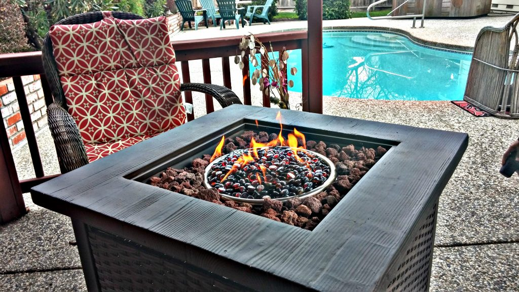Fire Pit | Bay Area Vacation Home with Swimming Pool