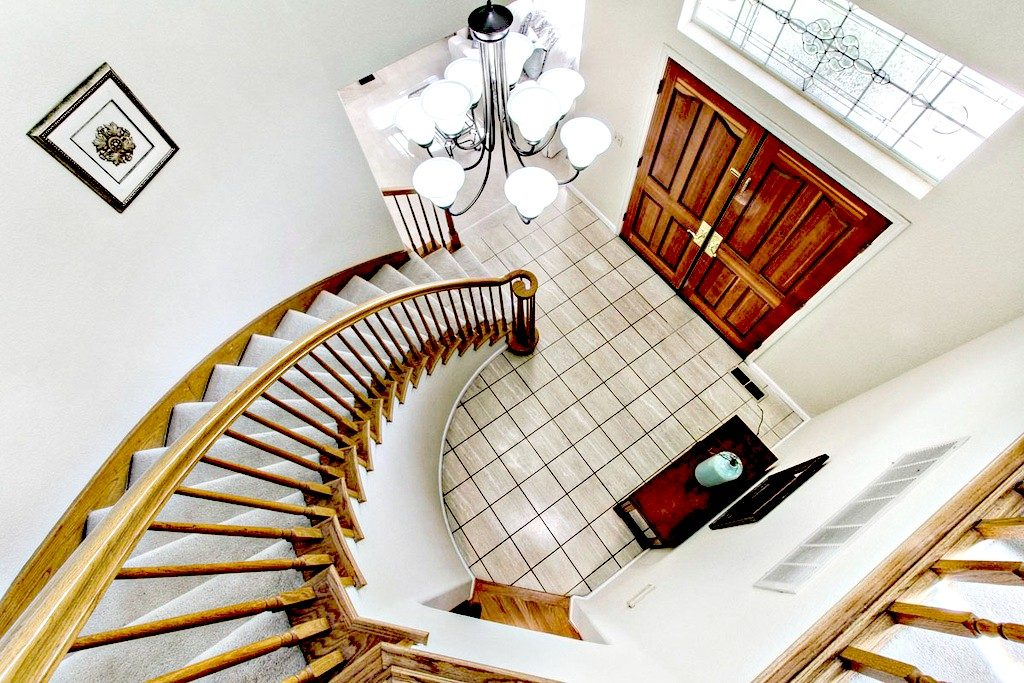 Stairs to Second Floor |San Francisco Bay Area Vacation Home Rental