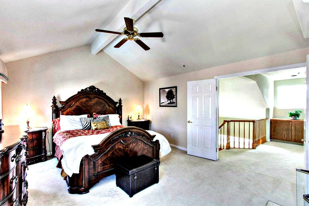 Master Bedroom suite | San Francisco Bay Area Vacation Home Rental